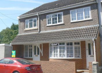 Thumbnail Semi-detached house for sale in Woodview Terrace, Bryncoch, Neath