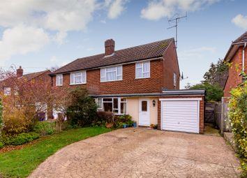 Thumbnail 3 bed semi-detached house for sale in Lordship Lane, Letchworth Garden City