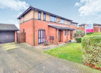 Thumbnail 3 bed semi-detached house for sale in Fairford Crescent, Downhead Park, Milton Keynes