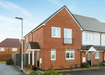 Thumbnail End terrace house for sale in Hensler Drive, Bishopdown, Salisbury