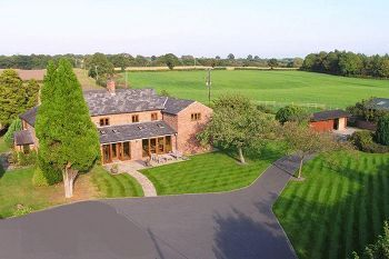 Thumbnail 5 bed detached house to rent in Clay Lane Farm, Marton, Near Tarporley, Cheshire