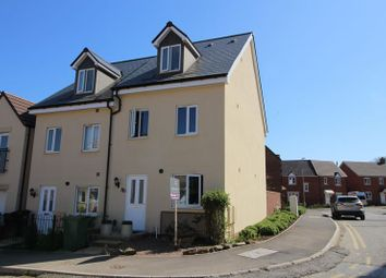 Thumbnail 3 bed end terrace house for sale in The Mead, Keynsham, Bristol