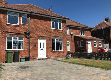 Thumbnail 3 bed property to rent in West End, Strensall, York