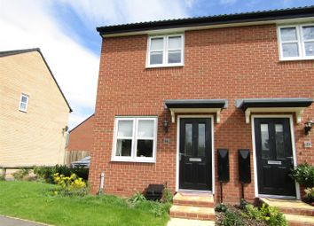 Thumbnail 2 bed semi-detached house for sale in Hunter Road, Whetstone, Leicester