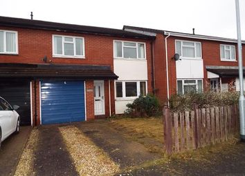 Thumbnail 3 bed terraced house for sale in Langford Close, Wrexham, .