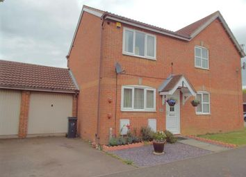 Thumbnail 2 bedroom semi-detached house for sale in Hazeldene Road, Hamilton, Leicester, Leicestershire