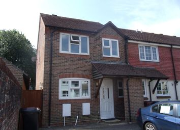 Thumbnail 3 bed end terrace house to rent in Woodfield Close, Tangmere, Chichester