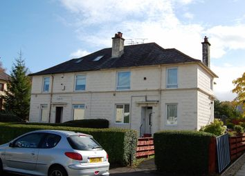 Thumbnail 2 bed flat for sale in Ashkirk Drive, Mosspark