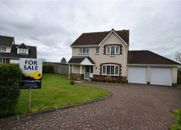 Thumbnail 4 bed detached house for sale in Highfield Close, High Bickington, Umberleigh