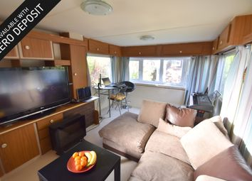 Thumbnail 1 bedroom mobile/park home to rent in Swans Walk, Salterns Lane, Hayling Island