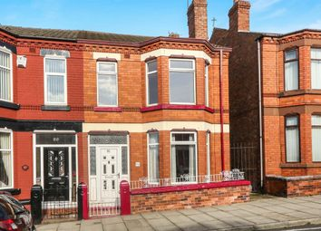 Thumbnail 3 bed semi-detached house for sale in Raffles Road, Tranmere, Birkenhead