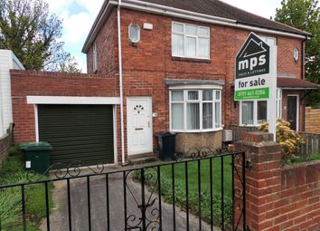 Thumbnail 2 bed semi-detached house for sale in Mount Grove, Dunston, Gateshead
