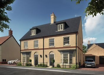 "Thumbnail 3 bed property for sale in ""The Griffin"" at Central Avenue, Brampton, Huntingdon"