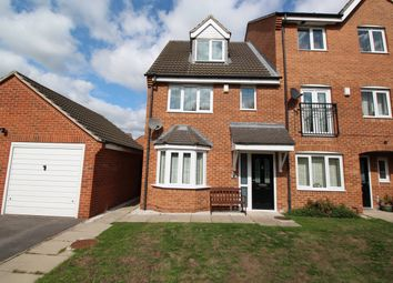 Thumbnail 3 bed town house for sale in Bittern Croft, Wombwell