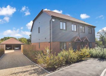 Thumbnail 2 bed semi-detached house for sale in Kings Close, Shadoxhurst, Ashford