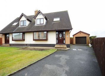 Thumbnail 3 bedroom semi-detached house for sale in Old Mill Rise, Dundonald, Belfast