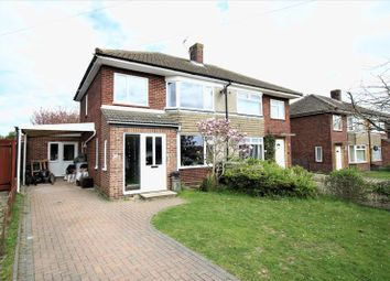 Thumbnail 4 bedroom semi-detached house for sale in Upper Breckland Road, New Costessey, Norwich