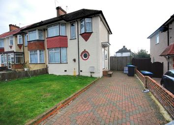 Thumbnail 3 bed end terrace house to rent in Mount Pleasant, Wembley, Middlesex
