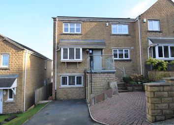 Thumbnail 4 bed semi-detached house for sale in Banks Road, Linthwaite, Huddersfield