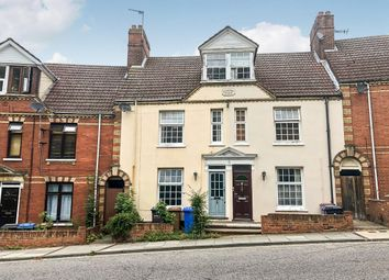 Thumbnail 4 bed terraced house for sale in Burrell Road, Ipswich