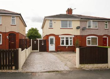 Thumbnail 2 bed semi-detached house for sale in Broom Road, Newtown, Wigan