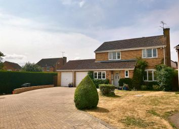 Thumbnail 4 bed detached house for sale in Brandon Close, Grange Park, Swindon