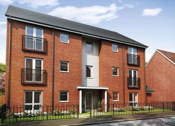 Thumbnail 2 bedroom flat for sale in Oakbrook San Andres Drive, Newton Leys, Bletchley, Milton Keynes