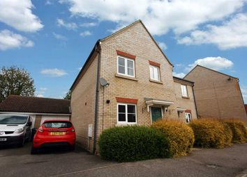 Thumbnail 3 bedroom semi-detached house for sale in Worsdell Close, Ipswich