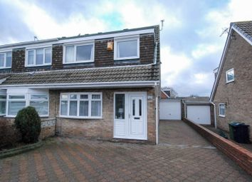 Thumbnail 3 bed bungalow for sale in Durham Drive, Fellgate, Jarrow