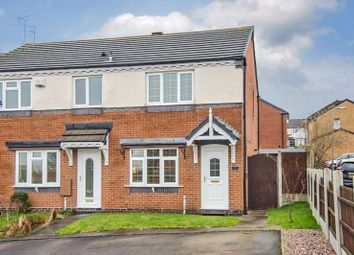 Thumbnail 2 bed semi-detached house for sale in Holt Crescent, Heath Hayes, Cannock