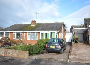 Thumbnail 2 bed semi-detached bungalow for sale in Chrystel Close, Tipton St. John, Sidmouth, Devon