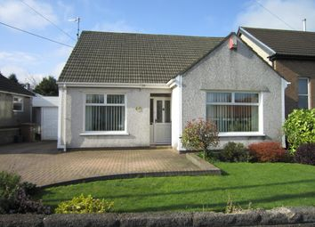 Thumbnail 3 bed detached bungalow for sale in Hengoed Road, Penpedairheol