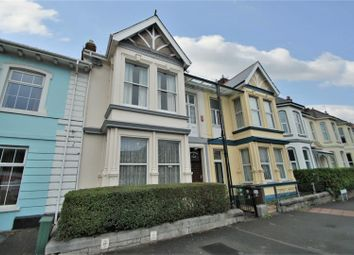 Thumbnail 4 bedroom end terrace house for sale in Pennycomequick Villas, Plymouth