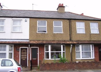 Thumbnail 2 bed terraced house to rent in Beresford Road, St. Albans, Hertfordshire