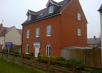 Thumbnail 5 bed detached house to rent in Small White Path, Buckingham Park, Aylesbury