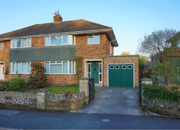 Thumbnail 3 bedroom semi-detached house for sale in Farleigh Crescent, Swindon