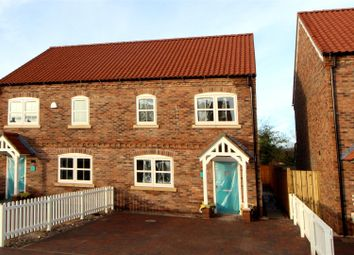 Thumbnail 3 bed semi-detached house for sale in 2 Rudds Green, Station Road, Nafferton, Driffield