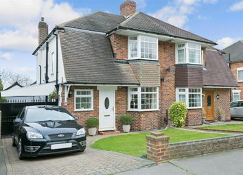 Thumbnail 3 bed semi-detached house for sale in Palace View, Shirley, Surrey
