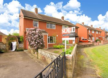 Thumbnail 3 bed semi-detached house for sale in Fernleigh Road, Caldicot