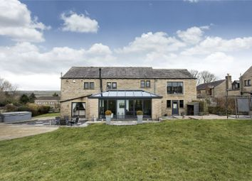 Thumbnail 5 bed detached house for sale in Sandyfoot, Barkisland, Halifax