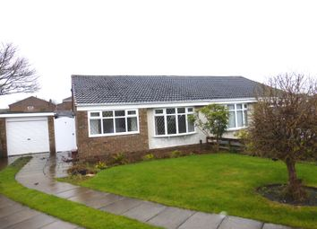 Thumbnail 2 bed semi-detached bungalow for sale in Brandon Close, Hartlepool