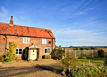 Thumbnail 3 bed cottage for sale in The Green, Stanhoe, King's Lynn
