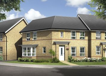 "Thumbnail 3 bedroom detached house for sale in ""Faringdon"" at Warkton Lane, Barton Seagrave, Kettering"