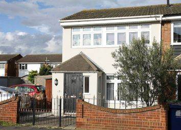 Thumbnail 3 bed end terrace house for sale in Solway, East Tilbury, Tilbury, Essex