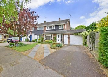 Thumbnail 4 bed semi-detached house for sale in Millfield, Southwater, Nr Horsham, West Sussex