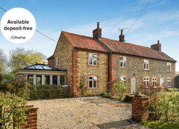 Thumbnail 3 bed cottage to rent in Wells Road, Hindringham, Fakenham
