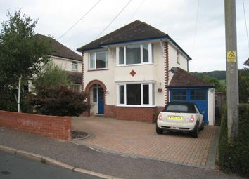 Thumbnail 3 bed detached house to rent in Newlands Road, Sidmouth, Devon