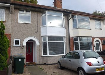 Thumbnail 3 bed terraced house to rent in Beaumont Crescent, Coundon, Coventry