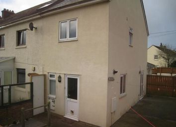 Thumbnail 3 bed end terrace house to rent in Listry Road, Newquay, Cornwall