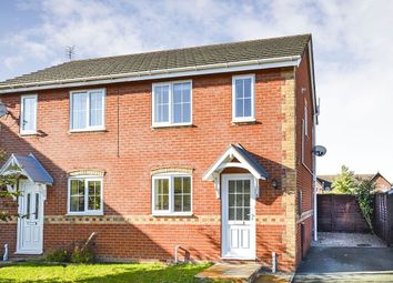 Thumbnail 2 bed semi-detached house to rent in Epsom Close, Oswestry